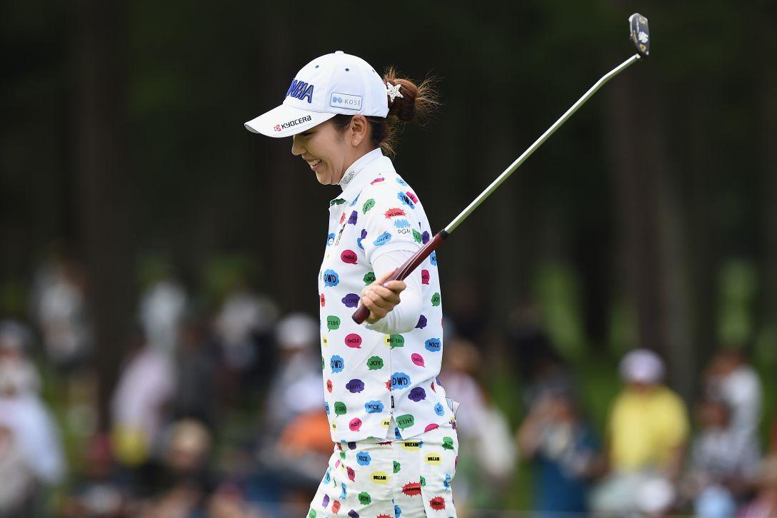 軽井沢72ゴルフトーナメント 最終日 笠りつ子 <Photo:Matt Roberts/Getty Images>