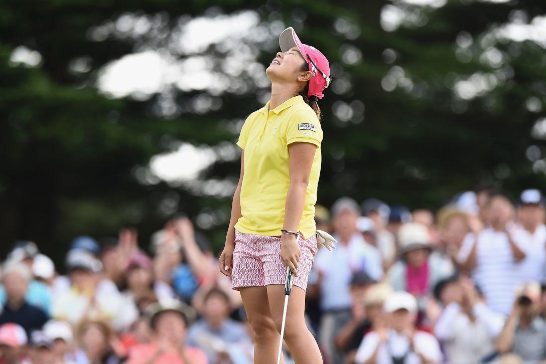 軽井沢72ゴルフトーナメント 最終日 比嘉真美子 <Photo:Matt Roberts/Getty Images>