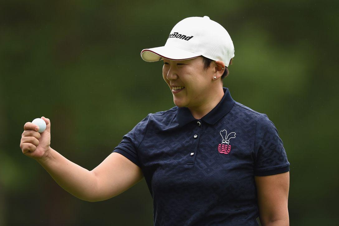 軽井沢72ゴルフトーナメント 最終日 申ジエ <Photo:Matt Roberts/Getty Images>