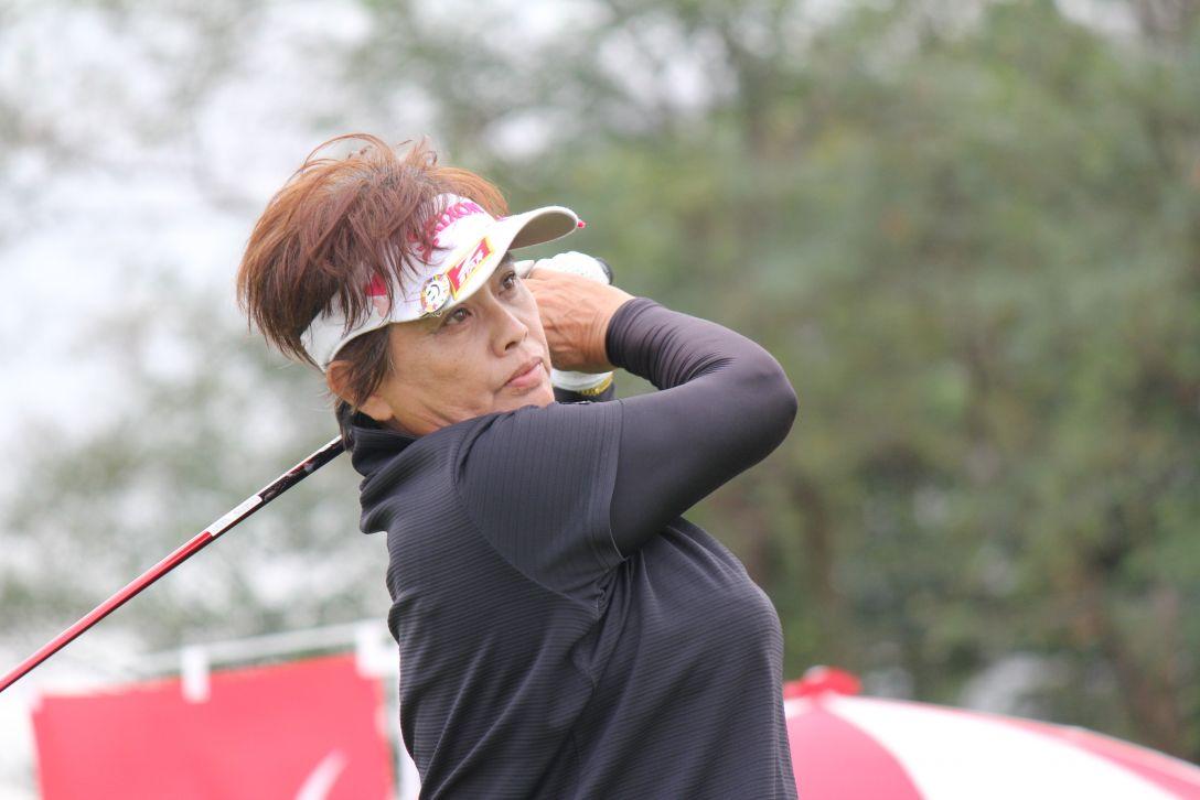 シブヤカップ グランドシニアの部 1日目 加納由美子