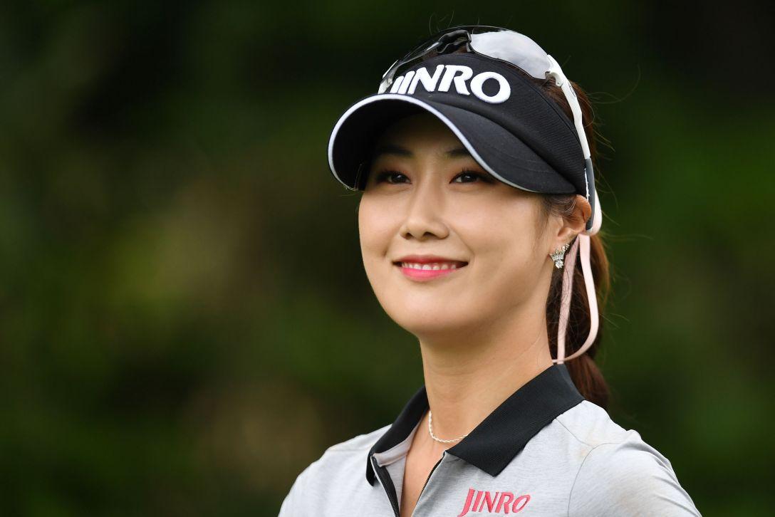 ニトリレディスゴルフトーナメント 1日目 キムハヌル <Photo:Atsushi Tomura/Getty Images>