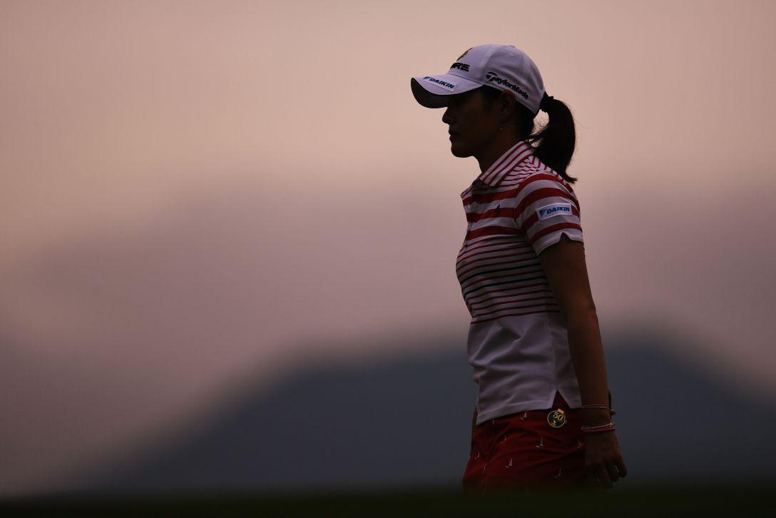 ニトリレディスゴルフトーナメント 1日目 諸見里しのぶ <Photo:Atsushi Tomura/Getty Images>