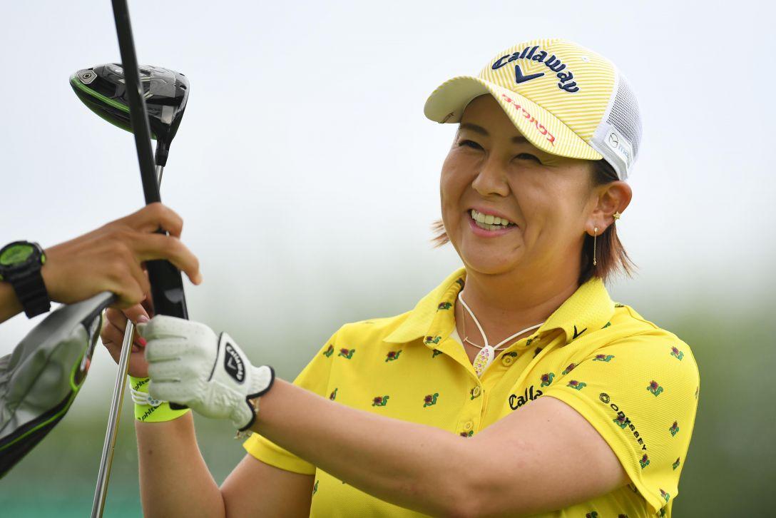 ニトリレディスゴルフトーナメント 1日目 佐伯三貴 <Photo:Atsushi Tomura/Getty Images>
