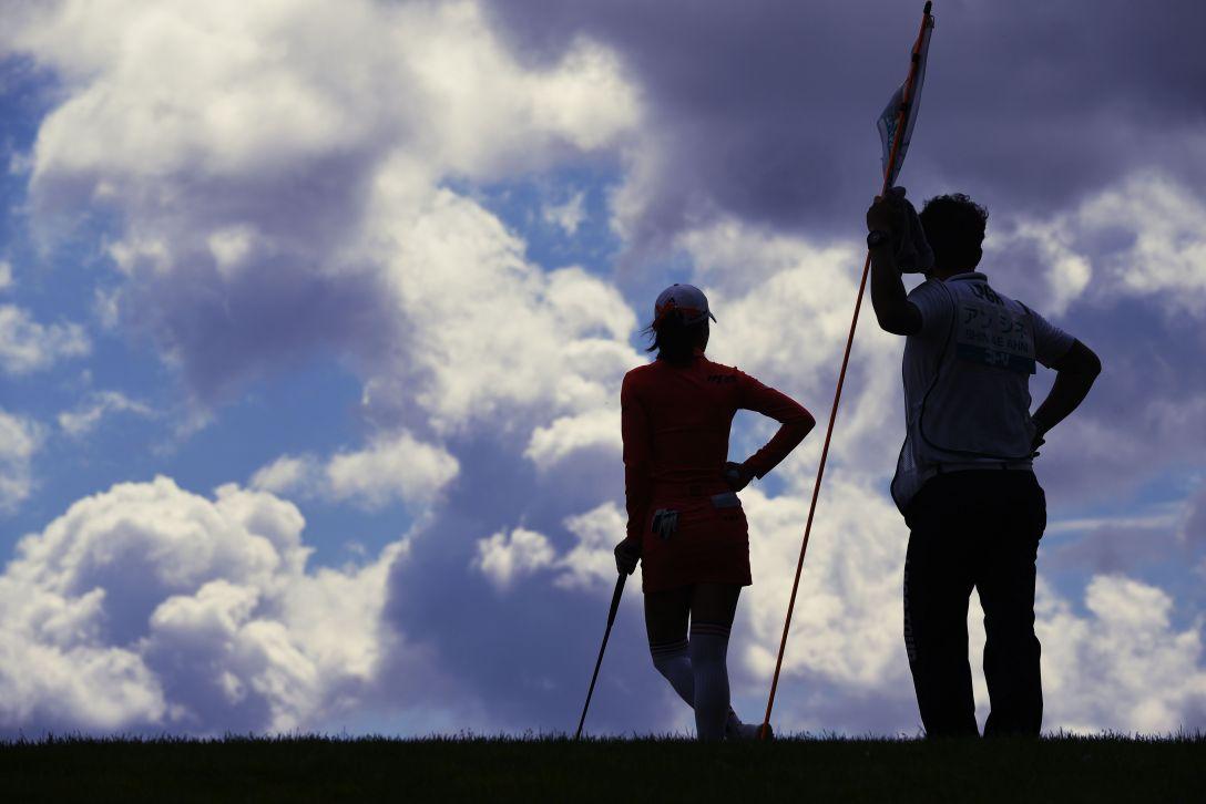 ニトリレディスゴルフトーナメント 2日目 アンシネ <Photo:Atsushi Tomura/Getty Images>