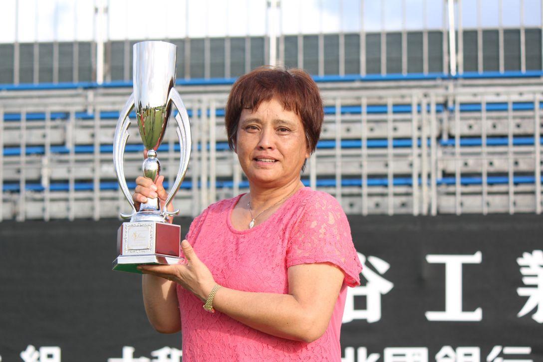 2017年度 シブヤカップ グランドシニアの部 最終日 加納由美子