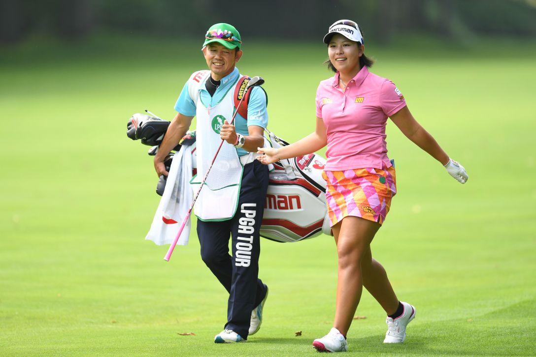 ニトリレディスゴルフトーナメント 2日目 ささきしょうこ <Photo:Atsushi Tomura/Getty Images>