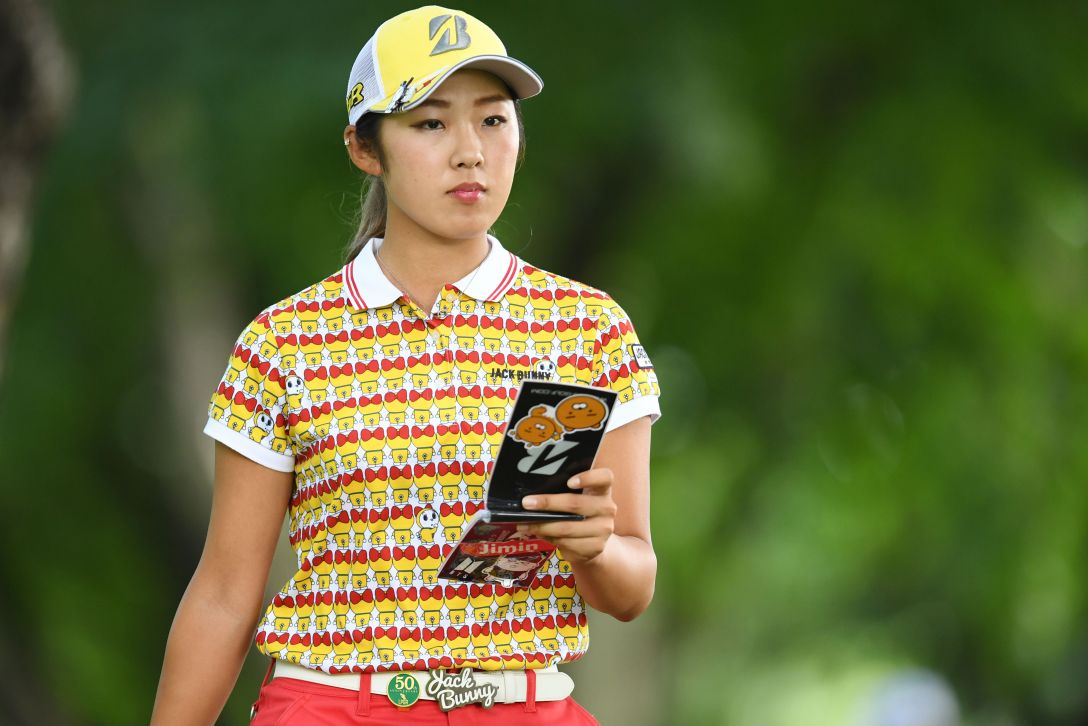 ニトリレディスゴルフトーナメント 2日目 高木萌衣 <Photo:Atsushi Tomura/Getty Images>