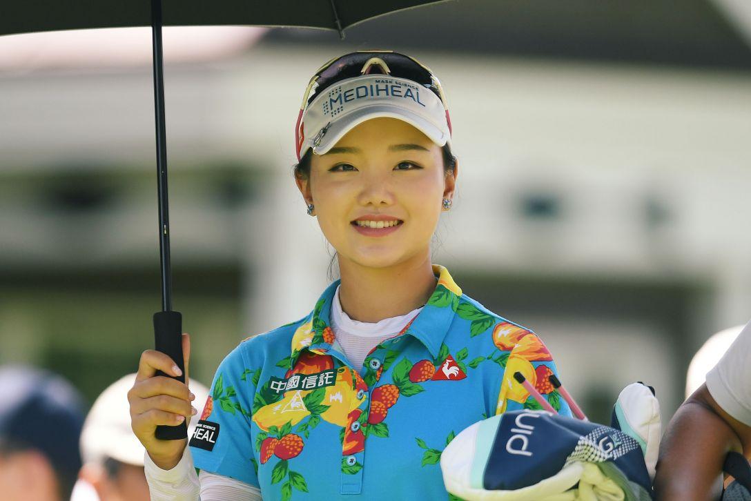 ニトリレディスゴルフトーナメント 3日目 セキユウティン <Photo:Atsushi Tomura/Getty Images>