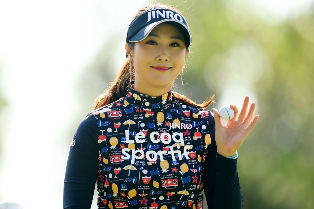 ニトリレディスゴルフトーナメント 3日目 キムハヌル <Photo:Atsushi Tomura/Getty Images>