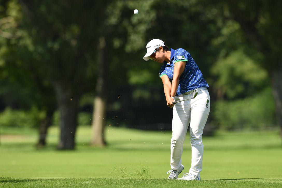 ニトリレディスゴルフトーナメント 最終日 森田理香子 <Photo:Atsushi Tomura/Getty Images>