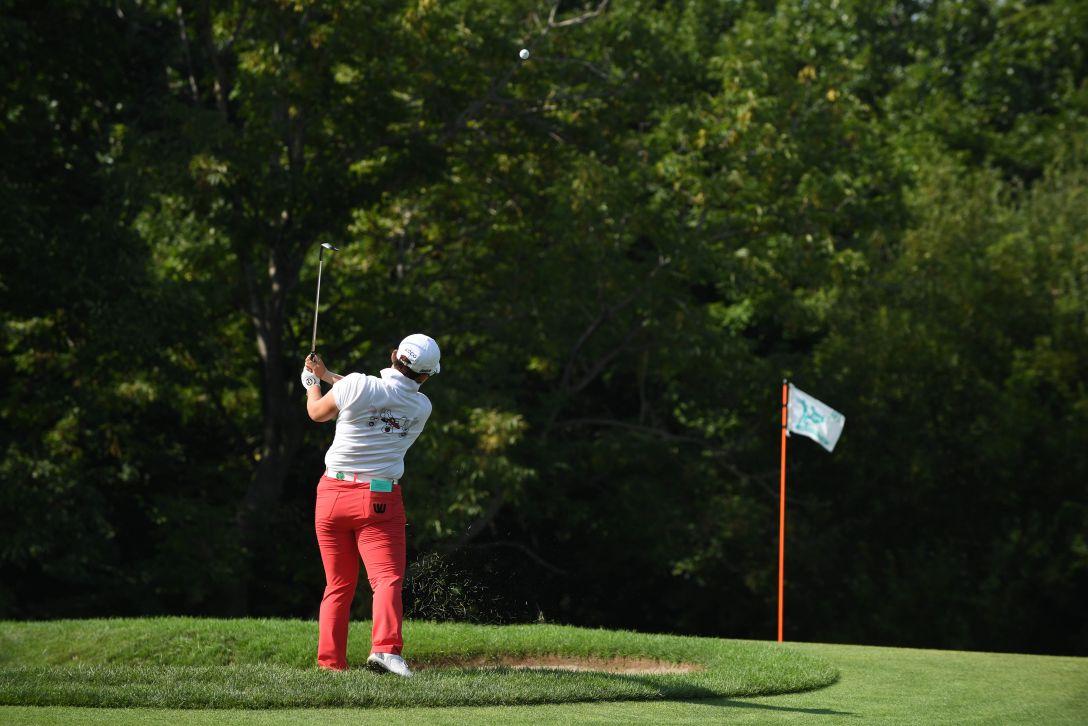 ニトリレディスゴルフトーナメント 最終日 申ジエ <Photo:Atsushi Tomura/Getty Images>