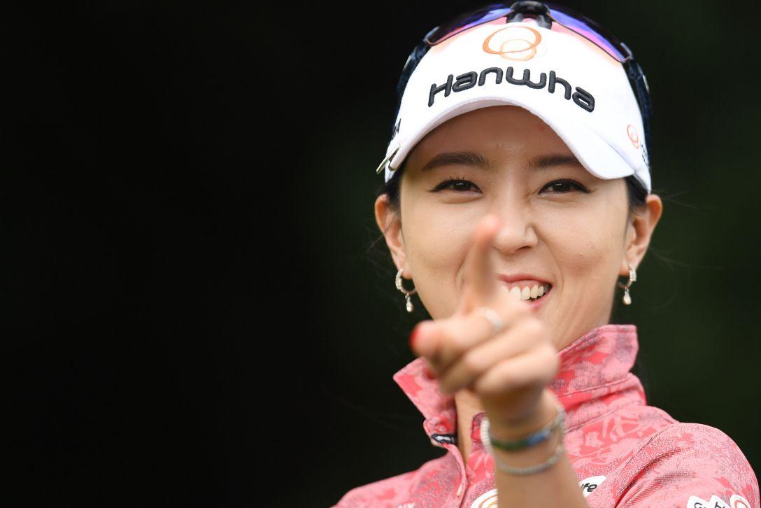 ニトリレディスゴルフトーナメント 最終日 ユンチェヨン  <Photo:Atsushi Tomura/Getty Images>