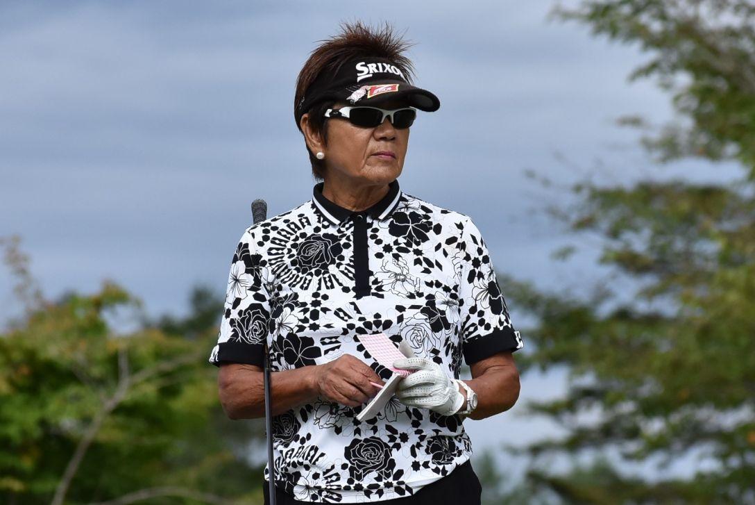 アリナミンVカップ 「グランドシニアの部」 1日目 岡田美智子
