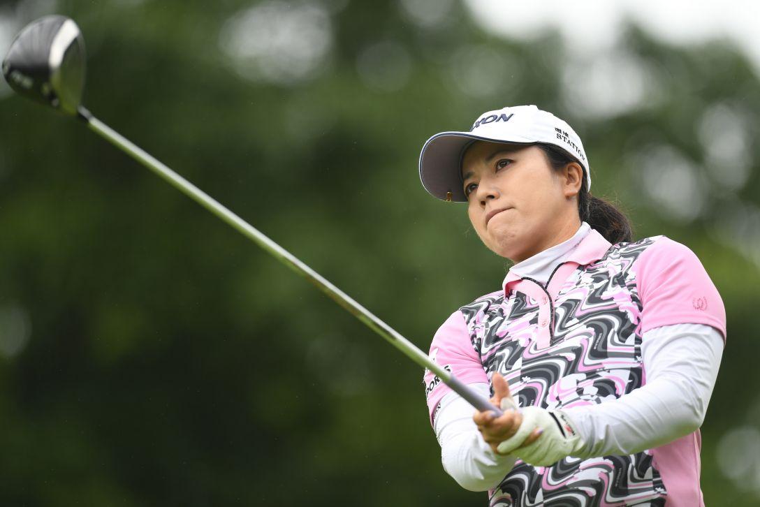 ゴルフ5レディス プロゴルフトーナメント 1日目 下川めぐみ <Photo:Atsushi Tomura/Getty Images>