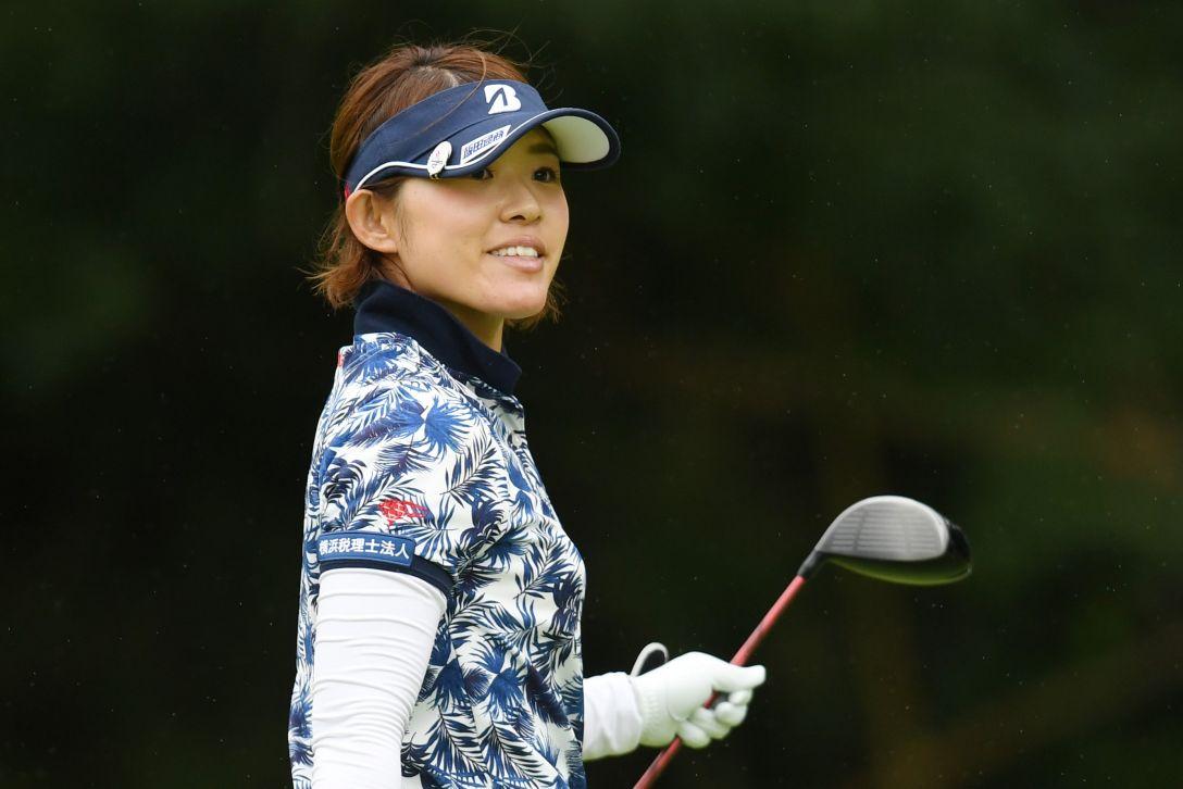 ゴルフ5レディス プロゴルフトーナメント 1日目 小川陽子 <Photo:Atsushi Tomura/Getty Images>