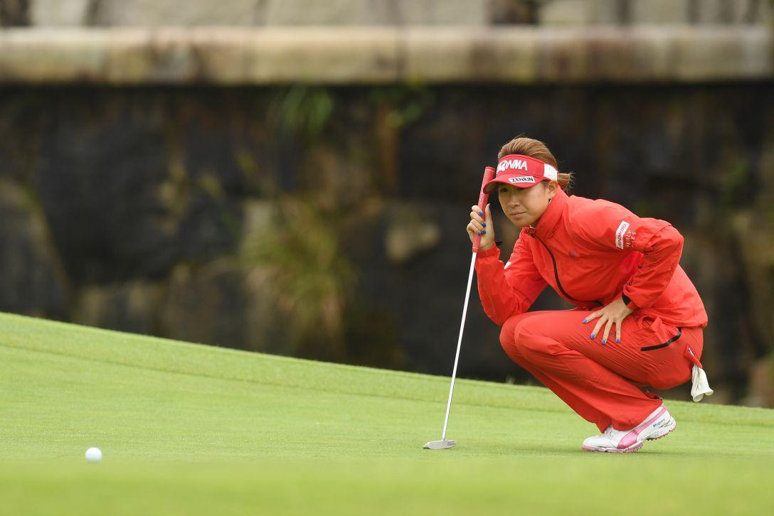 ゴルフ5レディス プロゴルフトーナメント 1日目 木戸愛 <Photo:Atsushi Tomura/Getty Images>