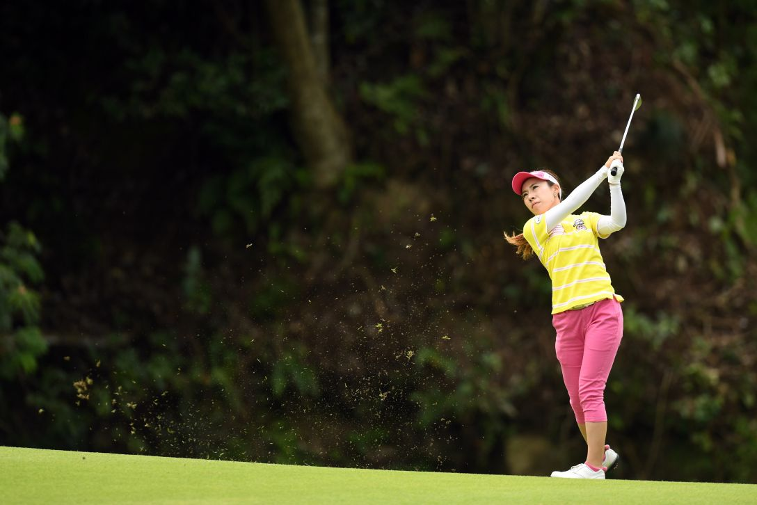 ゴルフ5レディス プロゴルフトーナメント 2日目 木村彩子 <Photo:Atsushi Tomura/Getty Images>