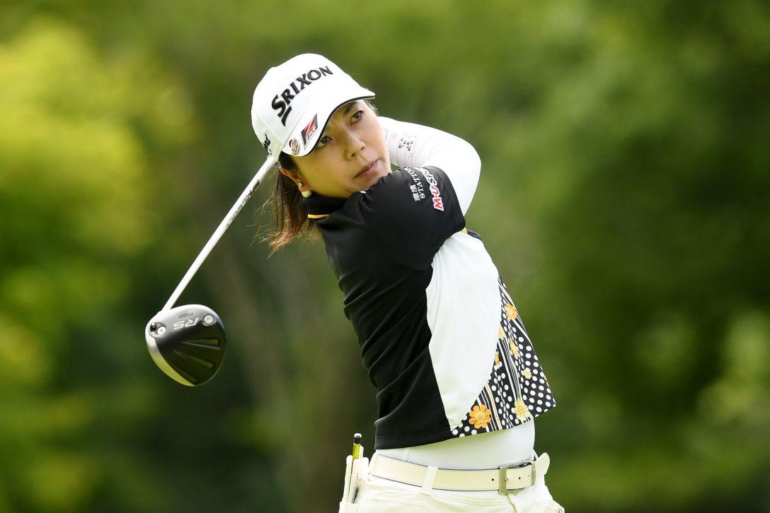 ゴルフ5レディス プロゴルフトーナメント 2日目 下川めぐみ <Photo:Atsushi Tomura/Getty Images>