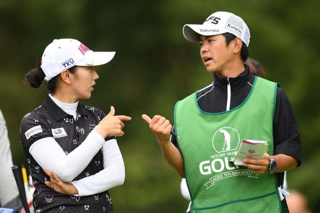 ゴルフ5レディス プロゴルフトーナメント 1日目 笠りつ子 <Photo:Atsushi Tomura/Getty Images>