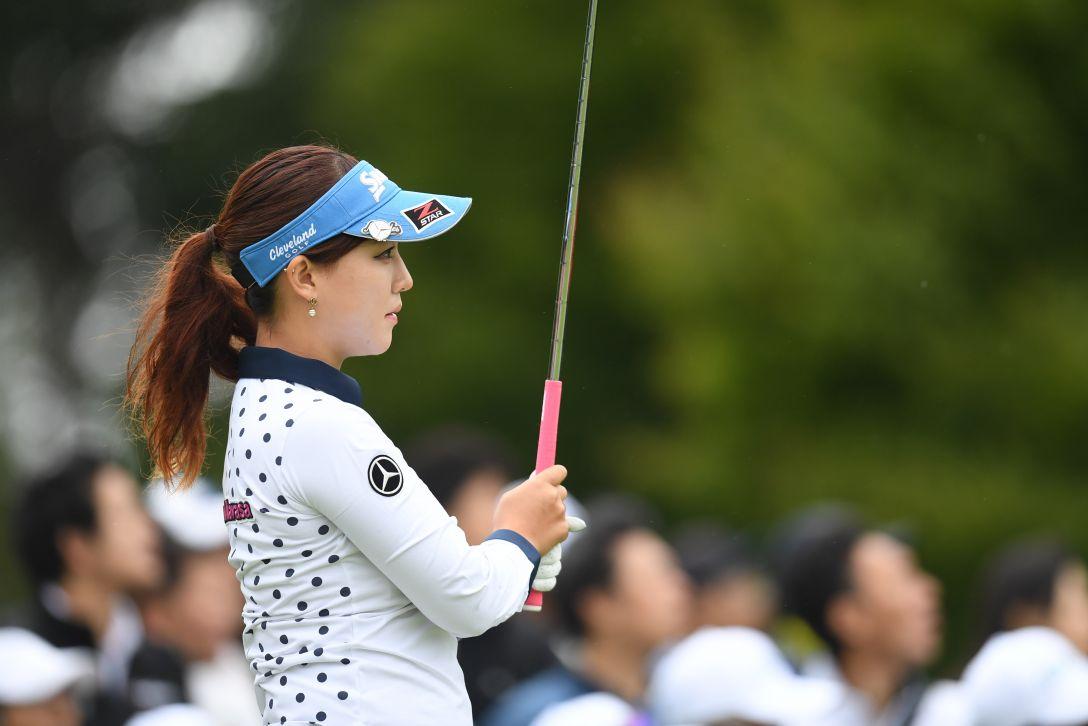 ゴルフ5レディス プロゴルフトーナメント 2日目 香妻琴乃 <Photo:Atsushi Tomura/Getty Images>