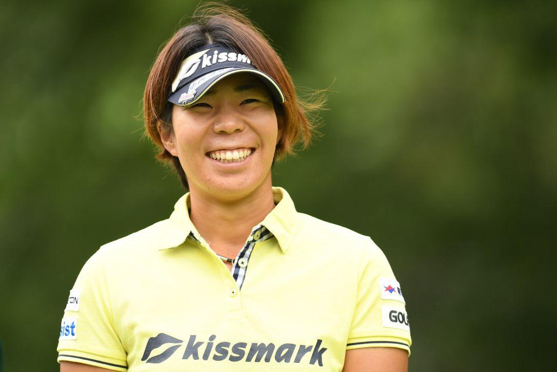 ゴルフ5レディス プロゴルフトーナメント 1日目 穴井詩 <Photo:Atsushi Tomura/Getty Images>