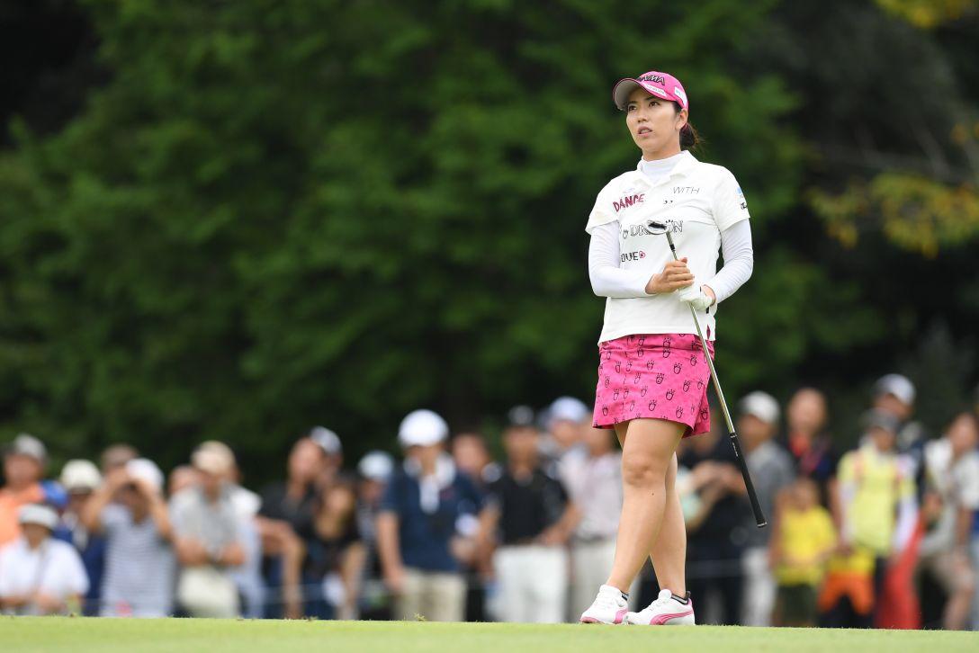 ゴルフ5レディス プロゴルフトーナメント 最終日 笠りつ子 <Photo:Atsushi Tomura/Getty Images>