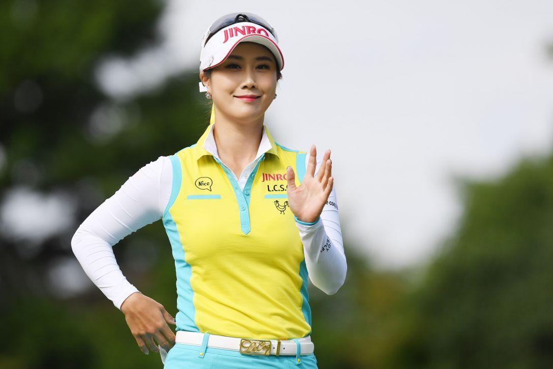 ゴルフ5レディス プロゴルフトーナメント 最終日 キムハヌル <Photo:Atsushi Tomura/Getty Images>