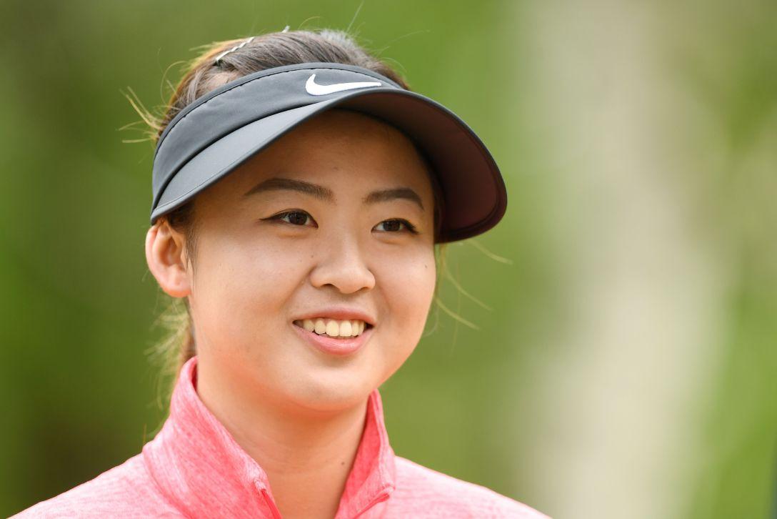 第50回日本女子プロゴルフ選手権大会コニカミノルタ杯 プロアマトーナメント フォンスーミン Photo:Atsushi Tomura/Getty Images