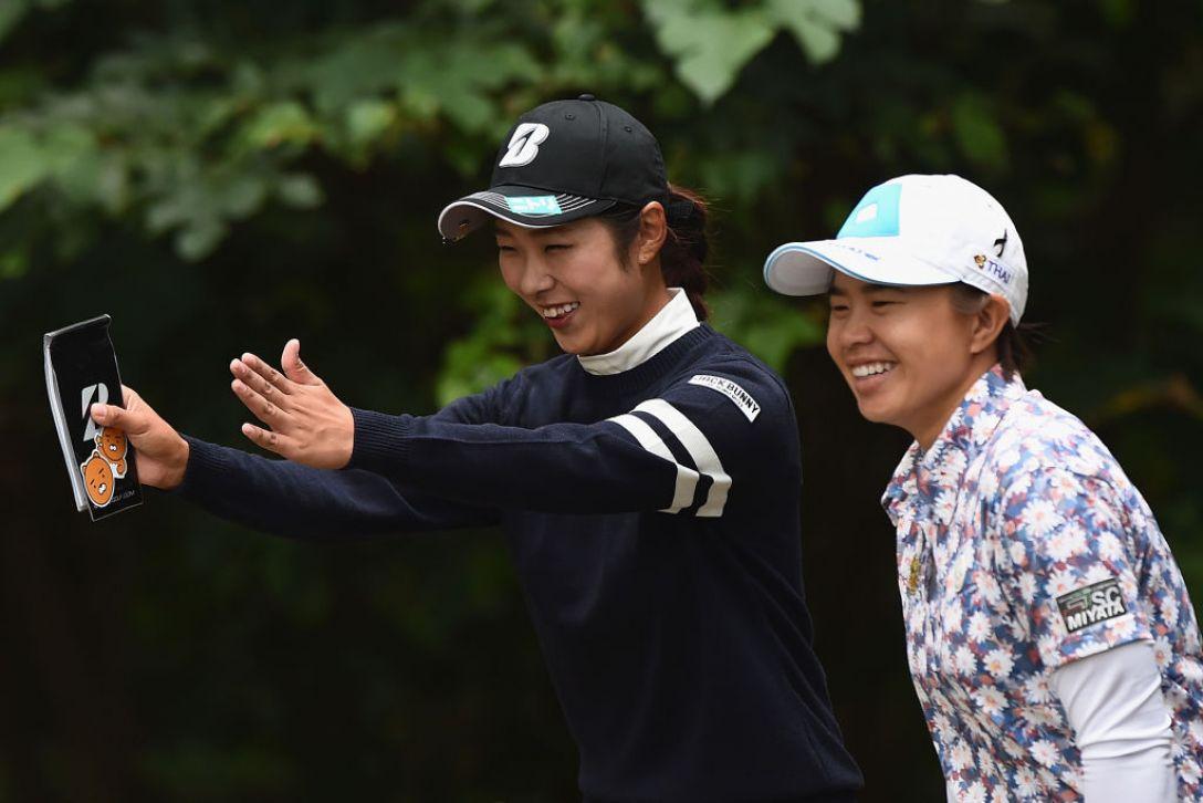 日本女子プロゴルフ選手権大会コニカミノルタ杯 1日目 高木萌衣