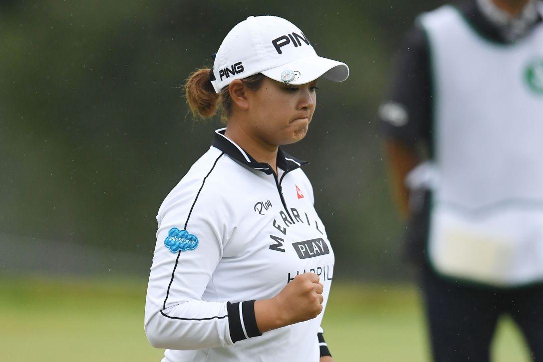 日本女子プロゴルフ選手権大会コニカミノルタ杯 1日目 鈴木愛
