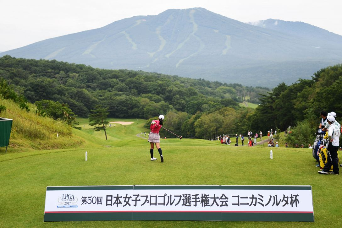 日本女子プロゴルフ選手権大会コニカミノルタ杯 1日目 堀琴音