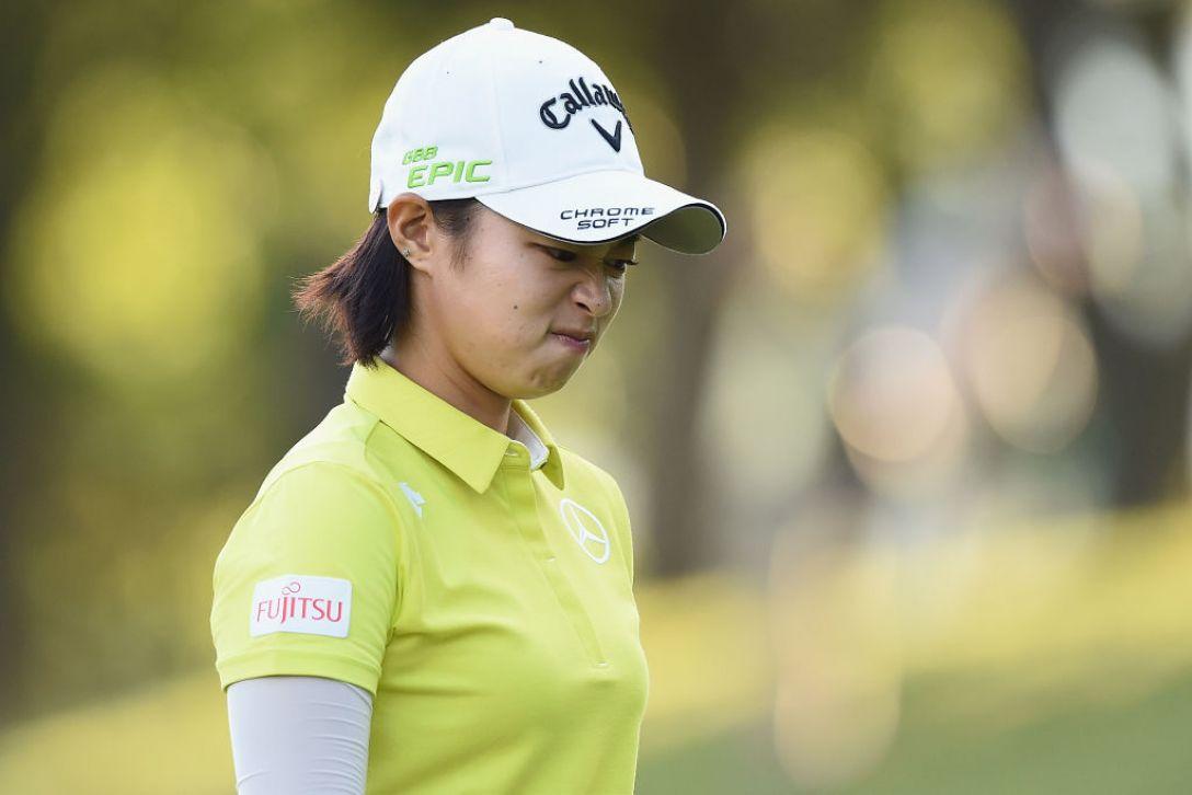 日本女子プロゴルフ選手権大会コニカミノルタ杯 2日目 柏原明日架 <Photo:Matt Roberts/Getty Images>