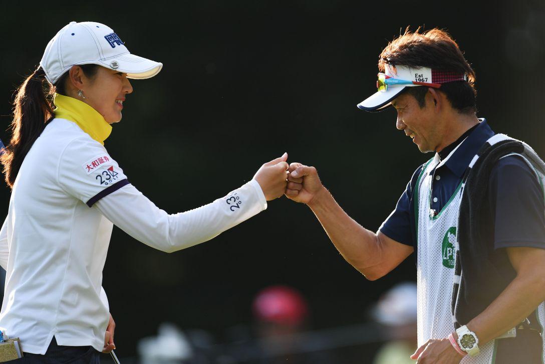 日本女子プロゴルフ選手権大会コニカミノルタ杯 2日目 辻梨恵 <Photo:Atsushi Tomura/Getty Images>