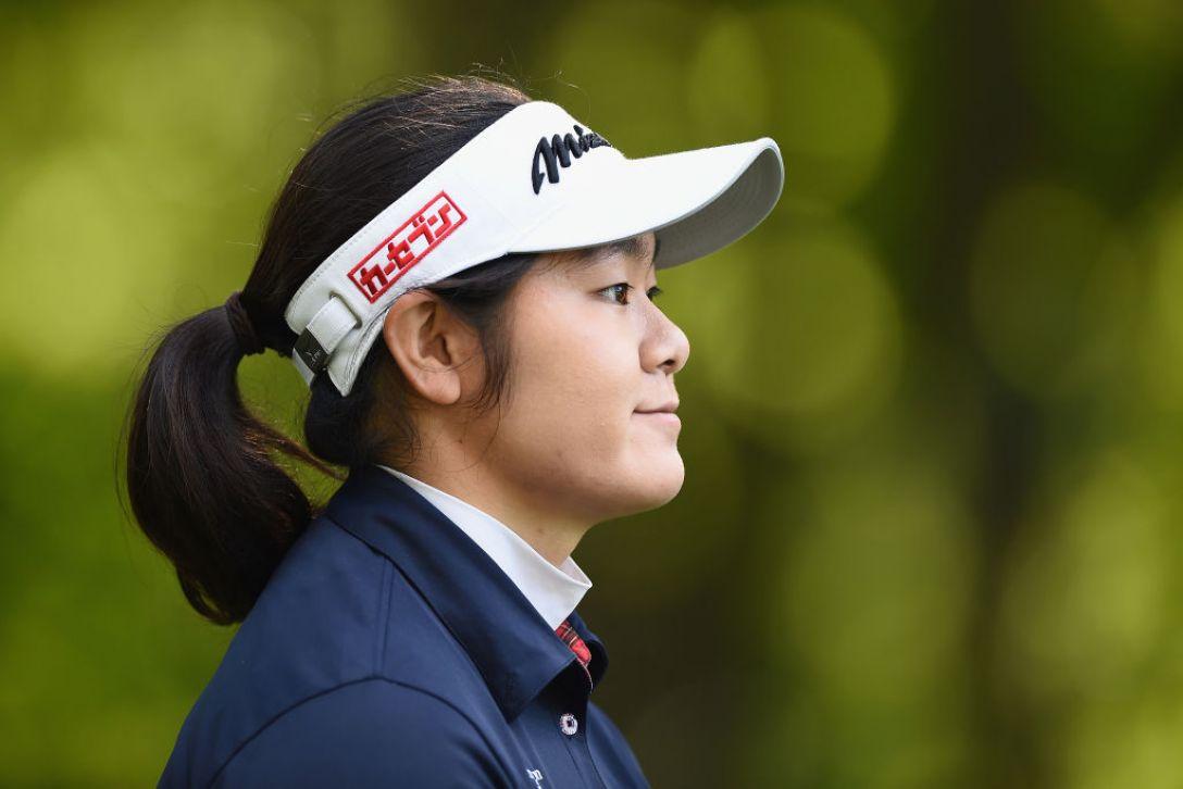 日本女子プロゴルフ選手権大会コニカミノルタ杯 2日目 川岸史果 <Photo:Matt Roberts/Getty Images>
