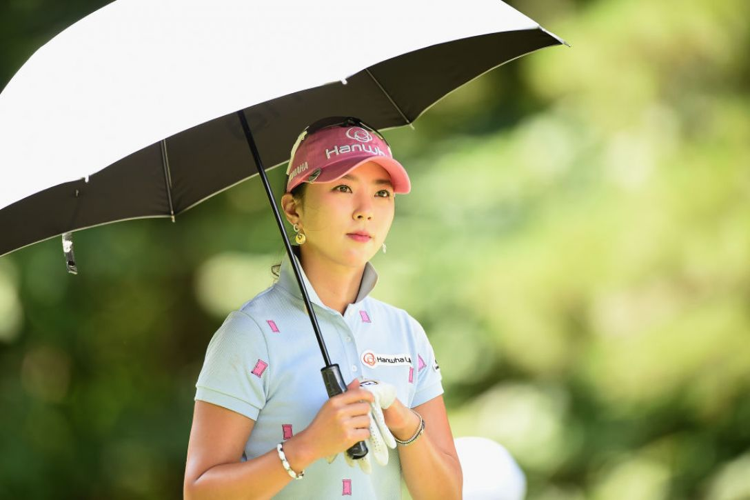 日本女子プロゴルフ選手権大会コニカミノルタ杯 3日目 ユンチェヨン <Photo:Matt Roberts/Getty Images>