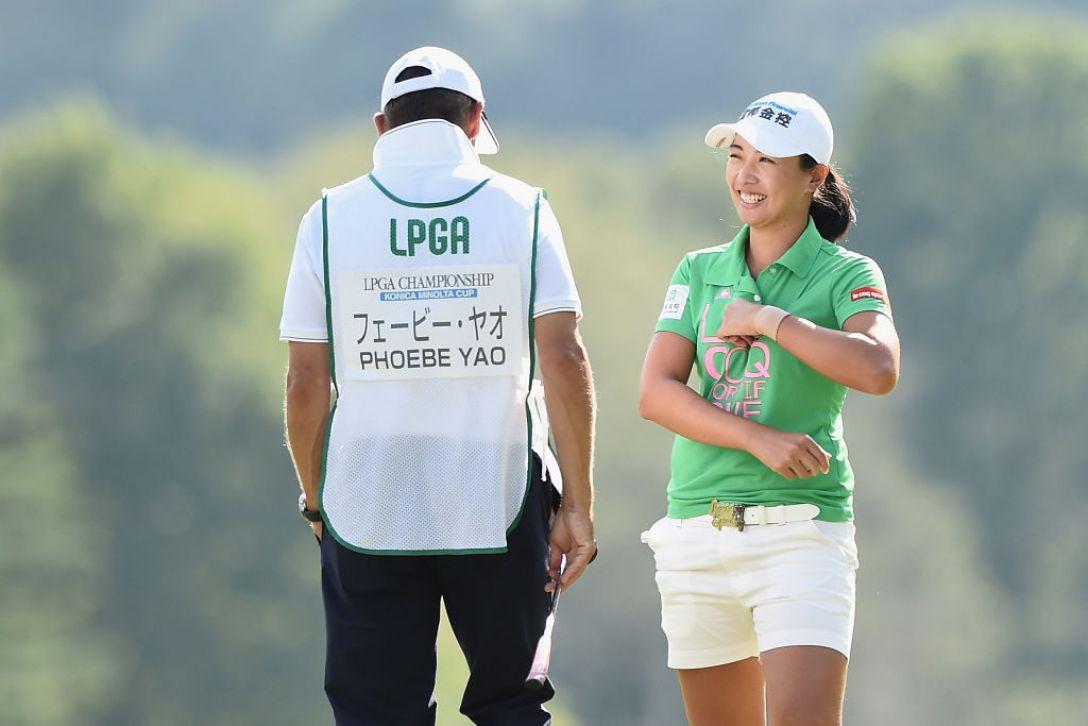 日本女子プロゴルフ選手権大会コニカミノルタ杯 3日目 フェービー・ヤオ <Photo:Matt Roberts/Getty Images>