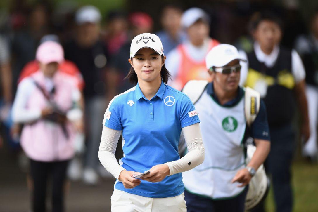 日本女子プロゴルフ選手権大会コニカミノルタ杯 3日目 柏原明日架 <Photo:Matt Roberts/Getty Images>