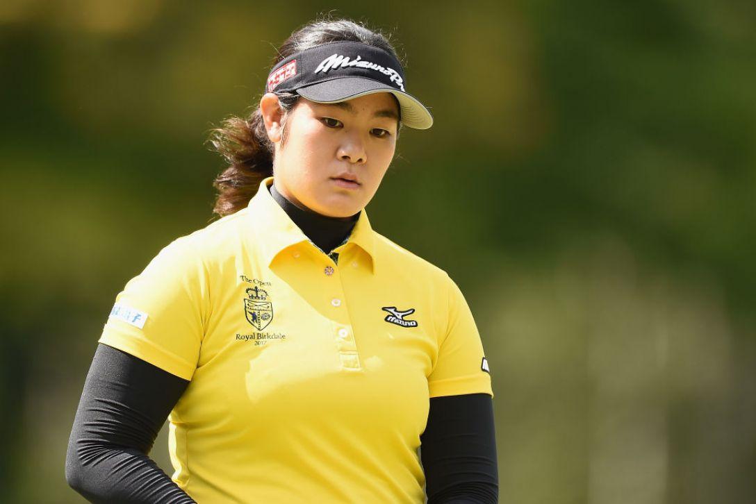日本女子プロゴルフ選手権大会コニカミノルタ杯 3日目 川岸史果 <Photo:Matt Roberts/Getty Images>