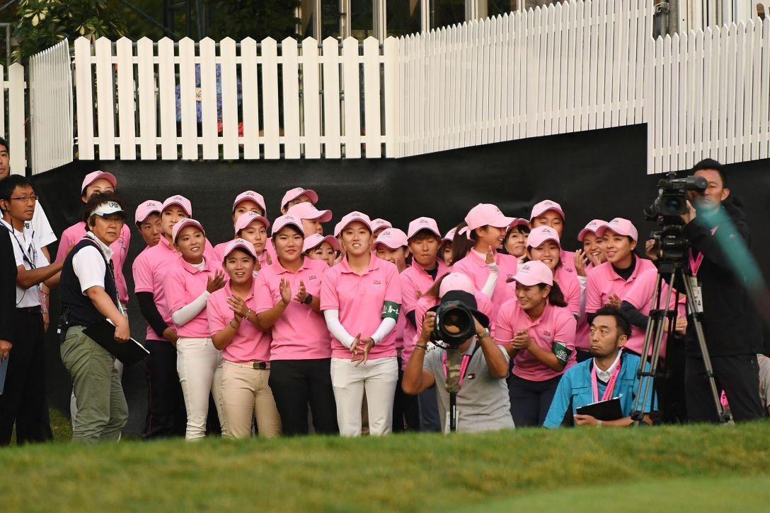日本女子プロゴルフ選手権大会コニカミノルタ杯 最終日 ルーキーたち <Photo:Atsushi Tomura/Getty Images>