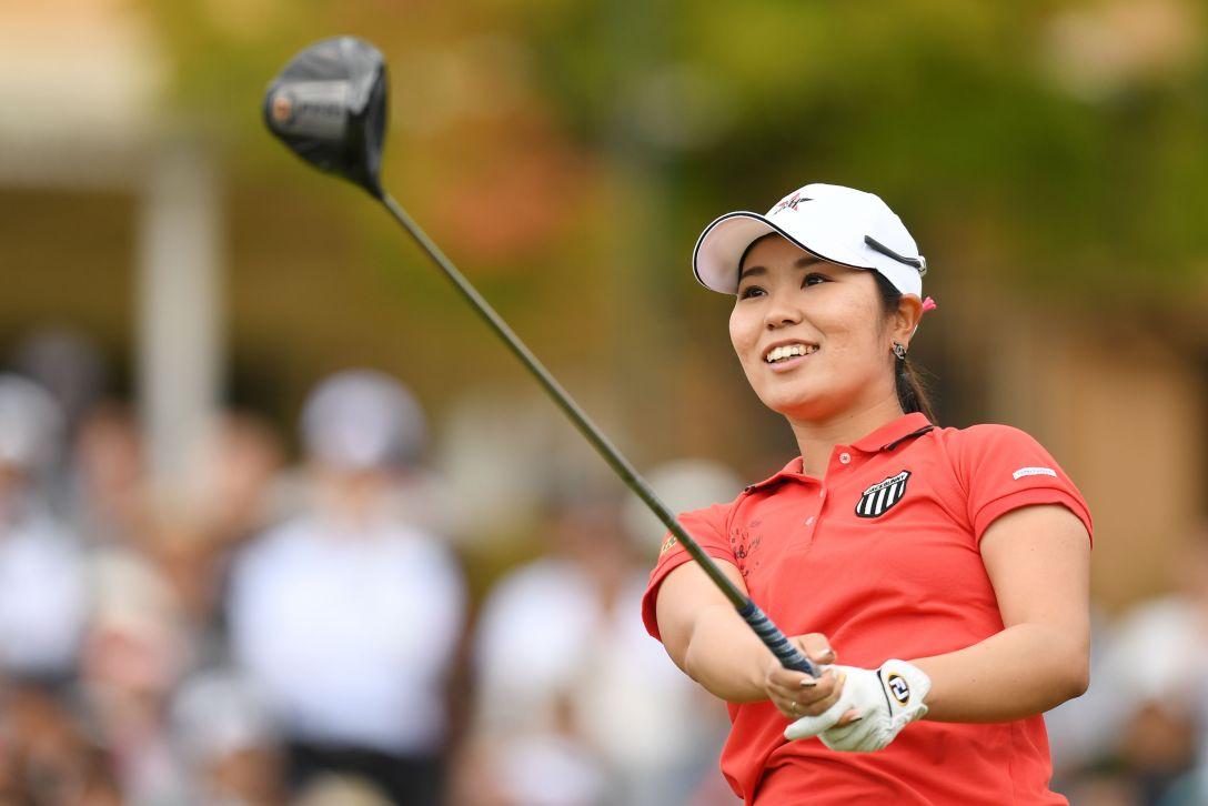 日本女子プロゴルフ選手権大会コニカミノルタ杯 最終日 比嘉真美子 <Photo:Atsushi Tomura/Getty Images>