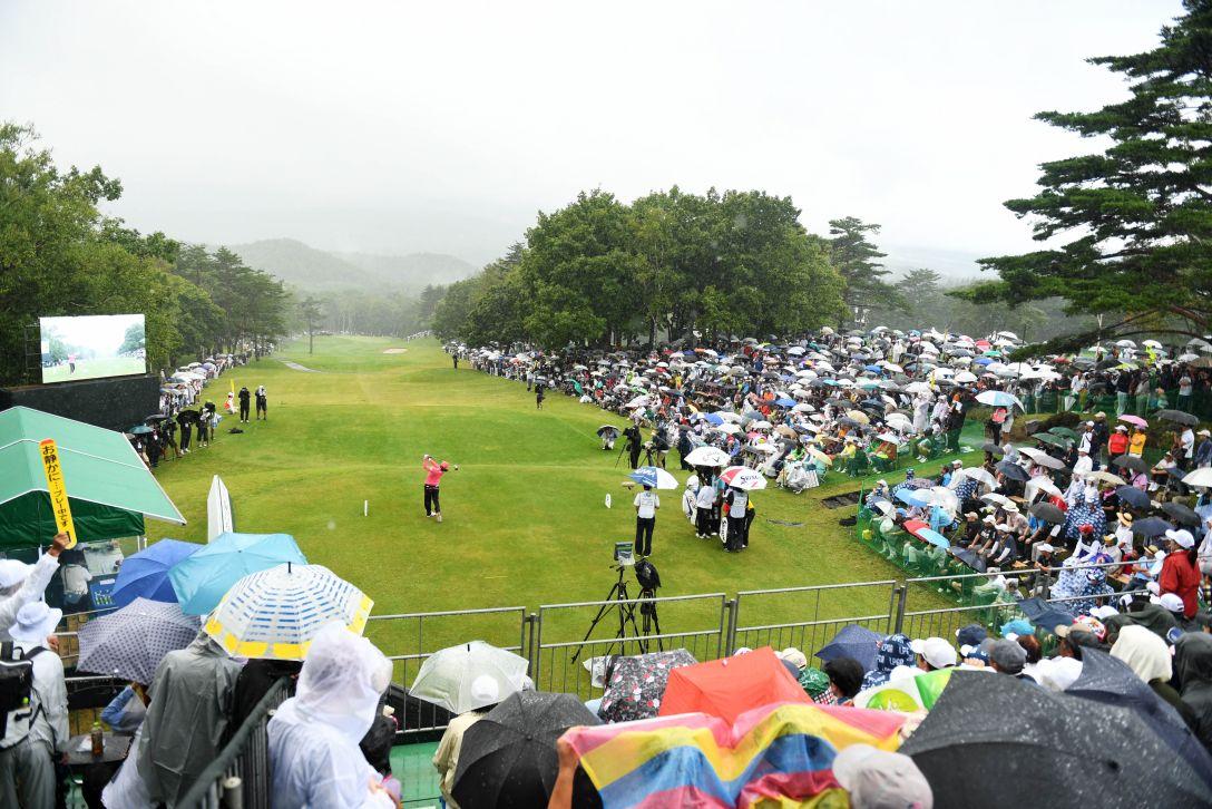 日本女子プロゴルフ選手権大会コニカミノルタ杯 最終日 ギャラリー <Photo:Atsushi Tomura/Getty Images>
