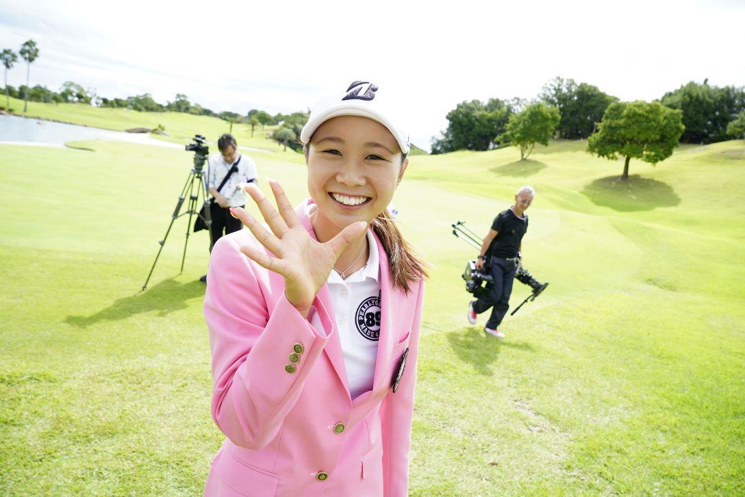 山陽新聞レディースカップ 最終日 金澤 志奈 <Photo:Ken Ishii/Getty Images>