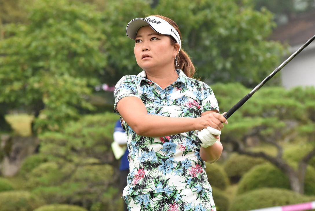 中国新聞ちゅーピーレディースカップ 1日目 鎌田ヒロミ