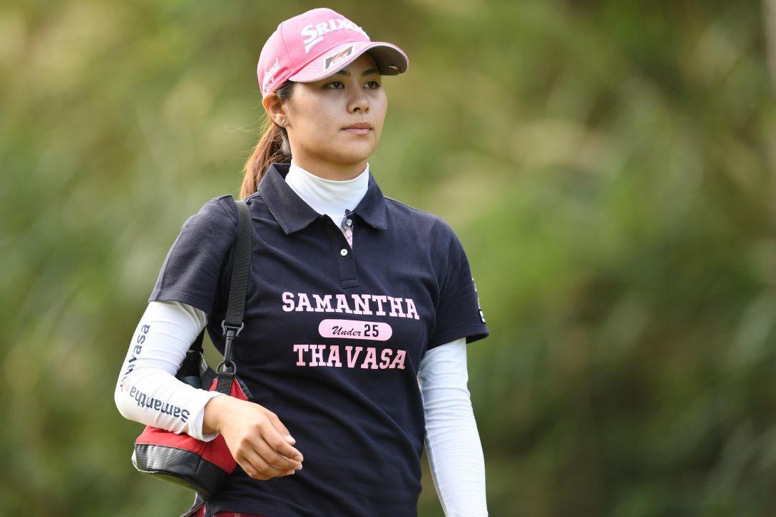 ミヤギテレビ杯ダンロップ女子オープンゴルフトーナメント 1日目 新垣 比菜 <Photo:Atsushi Tomura/Getty Images>
