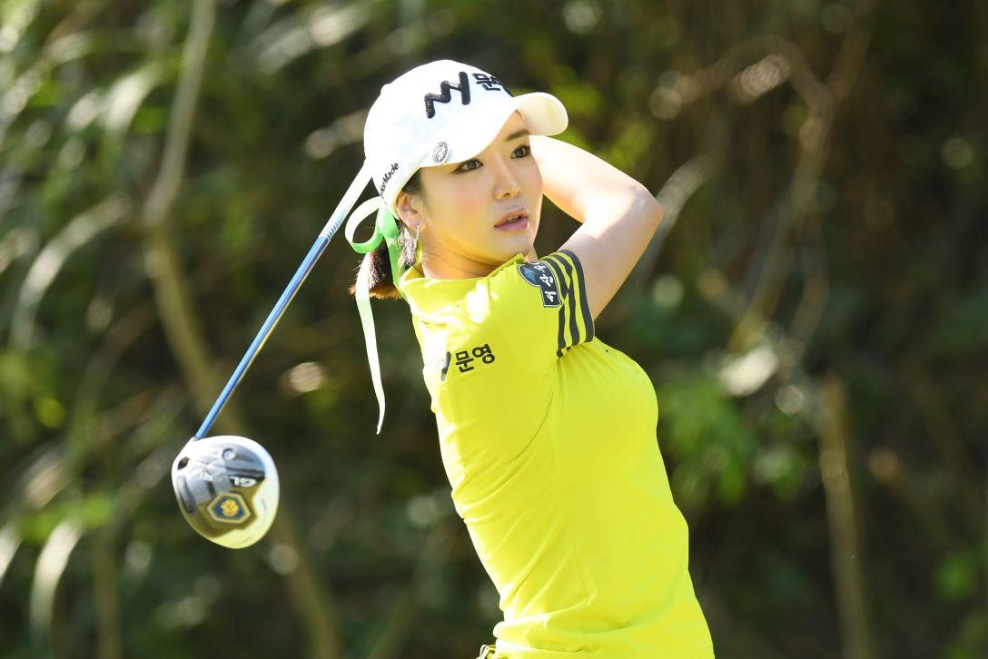 ミヤギテレビ杯ダンロップ女子オープンゴルフトーナメント 1日目 アン シネ <Photo:Atsushi Tomura/Getty Images>