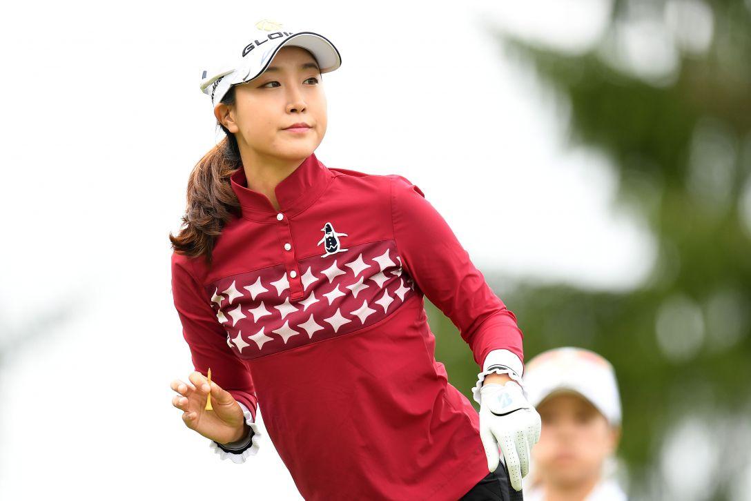 ミヤギテレビ杯ダンロップ女子オープンゴルフトーナメント 2日目 ジョン ジェウン <Photo:Atsushi Tomura/Getty Images>