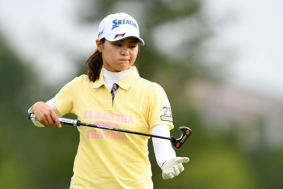 ミヤギテレビ杯ダンロップ女子オープンゴルフトーナメント 2日目 新垣 比菜 <Photo:Atsushi Tomura/Getty Images>