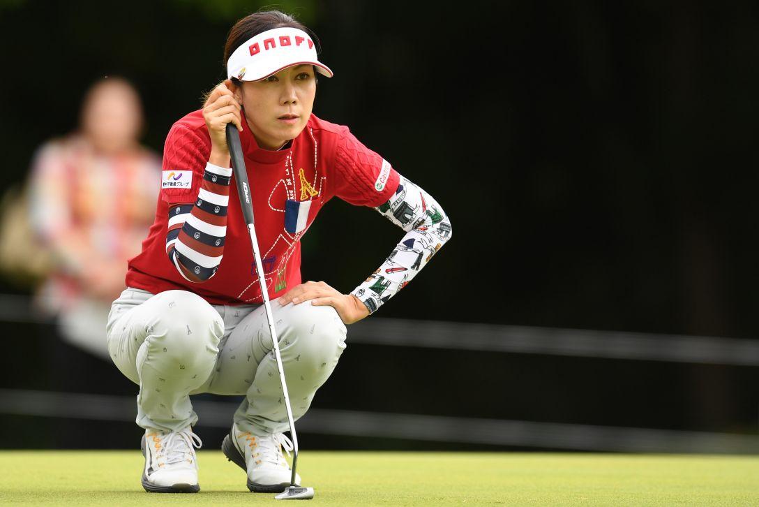 ミヤギテレビ杯ダンロップ女子オープンゴルフトーナメント 2日目 李 知姫 <Photo:Atsushi Tomura/Getty Images>