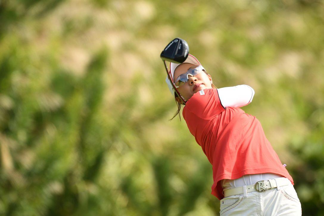 ミヤギテレビ杯ダンロップ女子オープンゴルフトーナメント 最終日 大江 香織 <Photo:Atsushi Tomura/Getty Images>