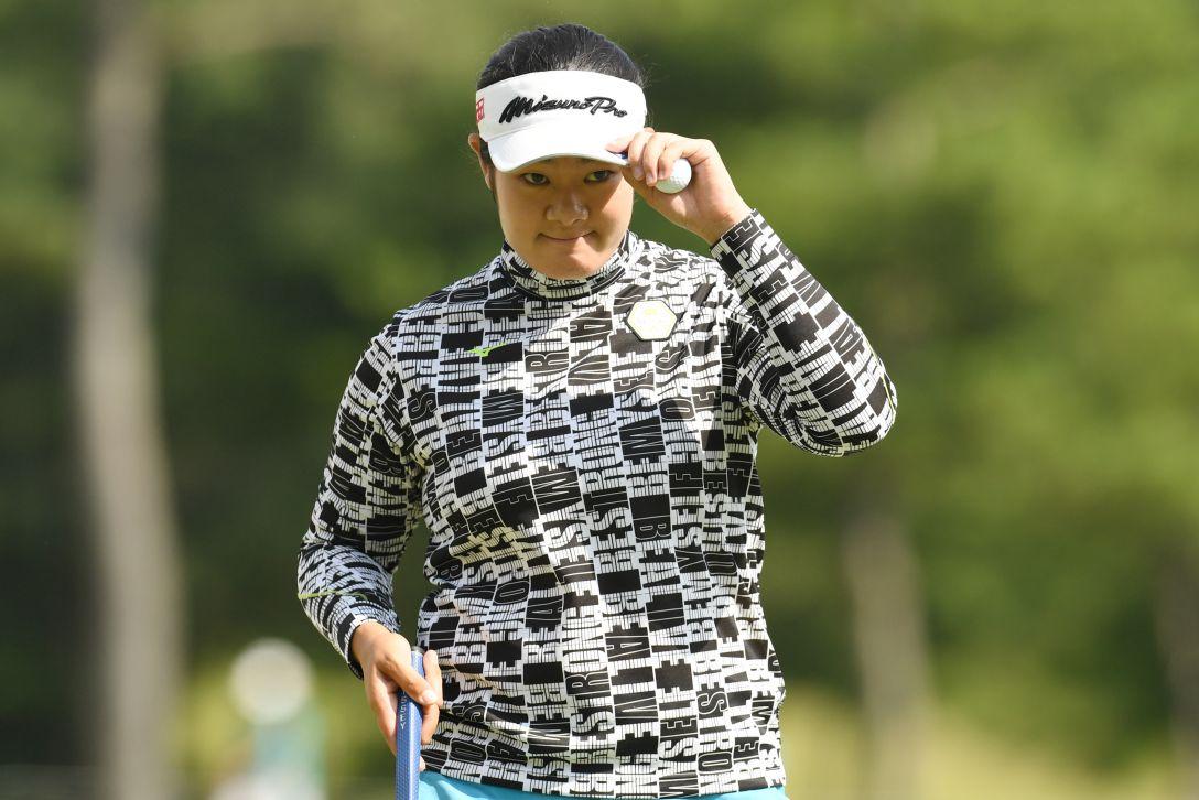 ミヤギテレビ杯ダンロップ女子オープンゴルフトーナメント 最終日 川岸 史果 <Photo:Atsushi Tomura/Getty Images>